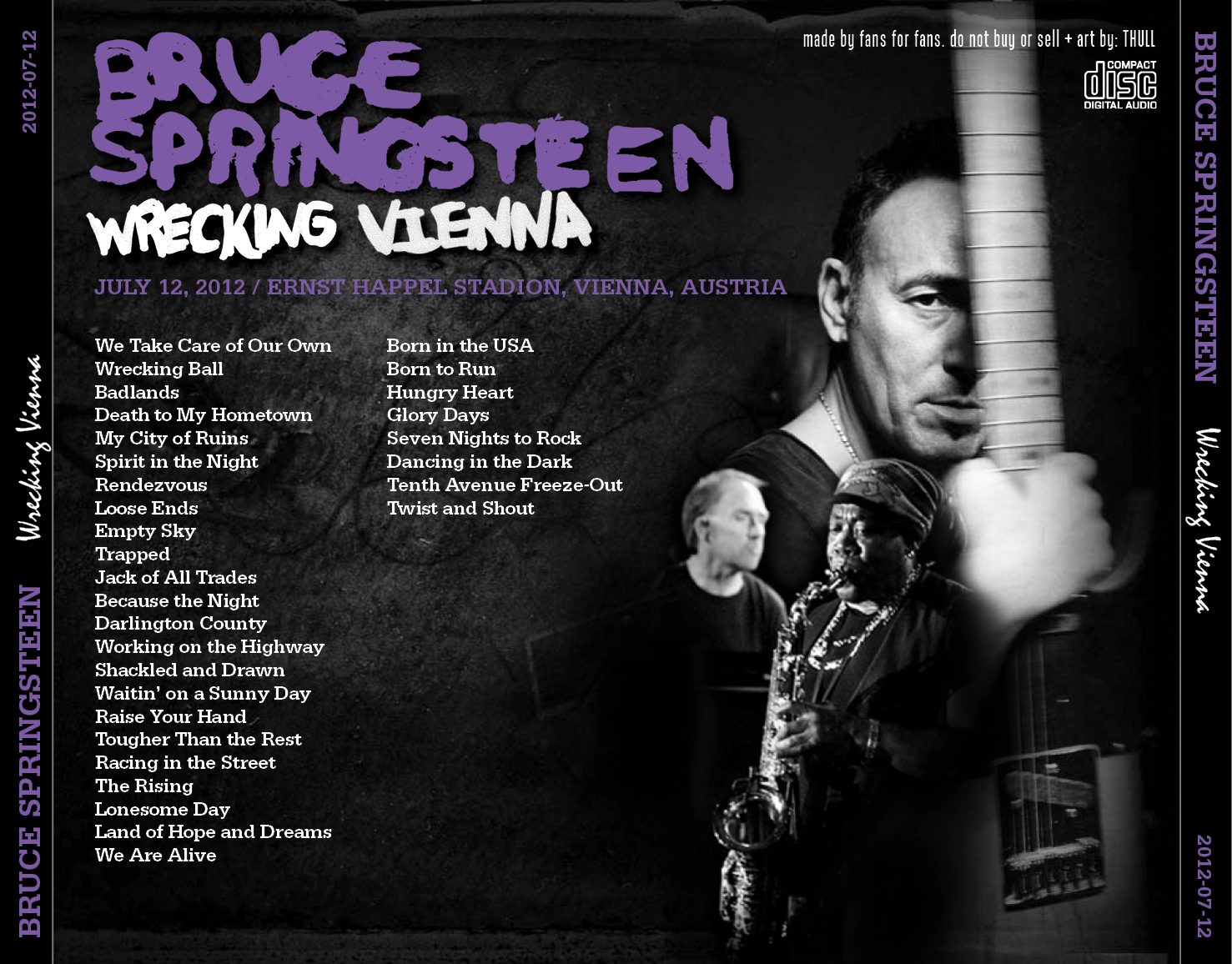 Springsteen Wrecking Ball Tour Wien 